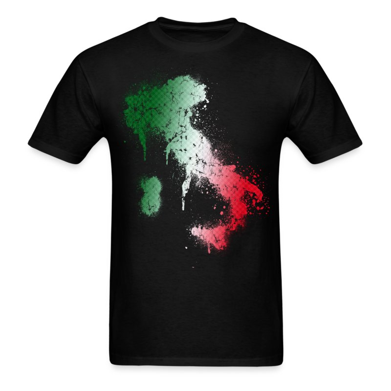 italy spray paint t shirt spreadshirt. Black Bedroom Furniture Sets. Home Design Ideas