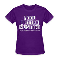Women's T-Shirts ~ Women's T-Shirt ~ Feel Better Austin Mahone Shirt