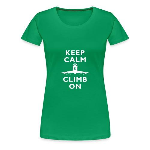 Climb On Women's Tee 2.0 - Women's Premium T-Shirt