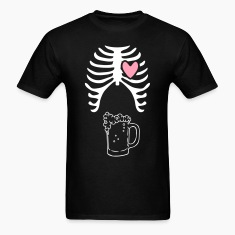 Beer xray Tshirt for dads to be