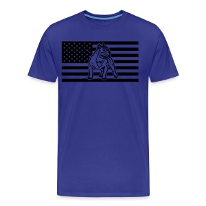 www.dog-power.nl - USA - Men's Premium T-Shirt