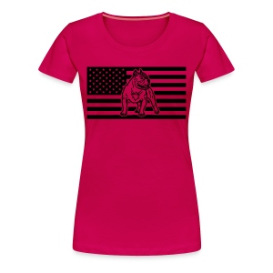 www.dog-power.nl - USA - Women's Premium T-Shirt