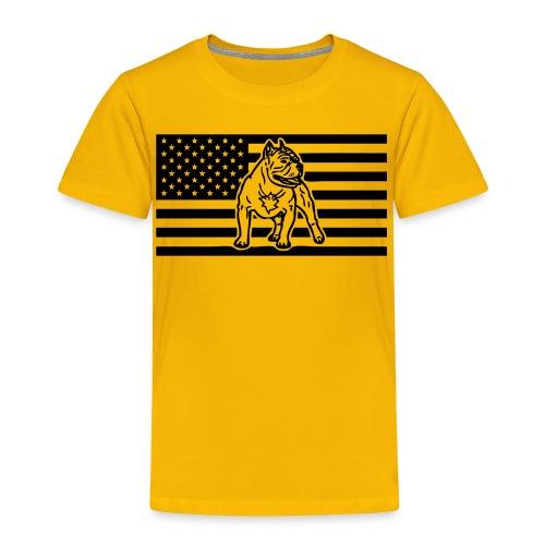 www.dog-power.nl - USA - Toddler Premium T-Shirt