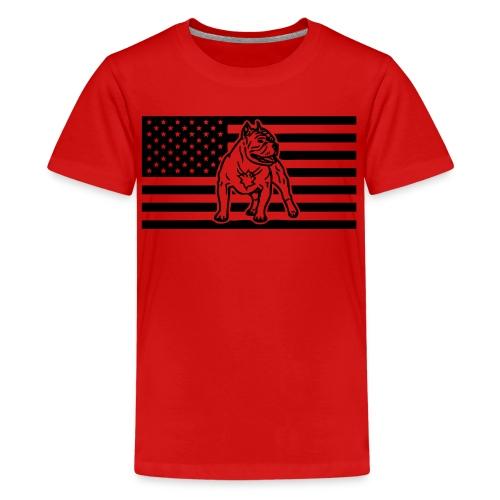 www.dog-power.nl - USA - Kids' Premium T-Shirt