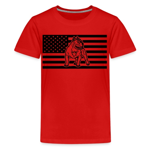 www.dog-power.nl - USA - Kids' Premium T-Shirt