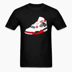 j4 fire red T-Shirts