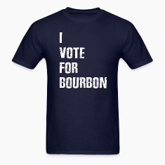 I Vote For Bourbon T-Shirts
