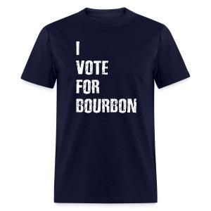 I Vote For Bourbon - Men's T-Shirt