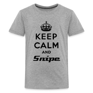 Keep Calm And Snipe - Kids' Premium T-Shirt