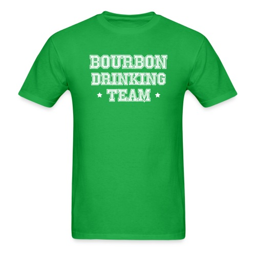 Bourbon Drinking Team - Men's T-Shirt
