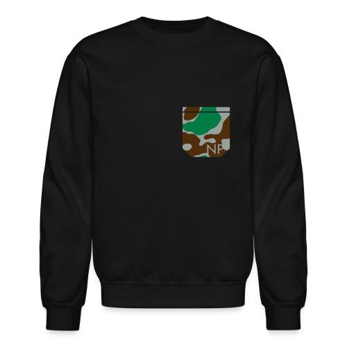 Fake Camo Pocket - Crewneck Sweatshirt