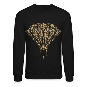 Dripping Cheetah Diamond - Crewneck Sweatshirt