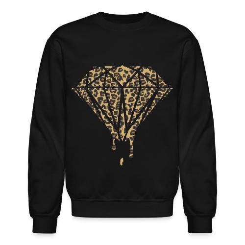 Dripping Cheetah Diamond - Crewneck Sweatshirt