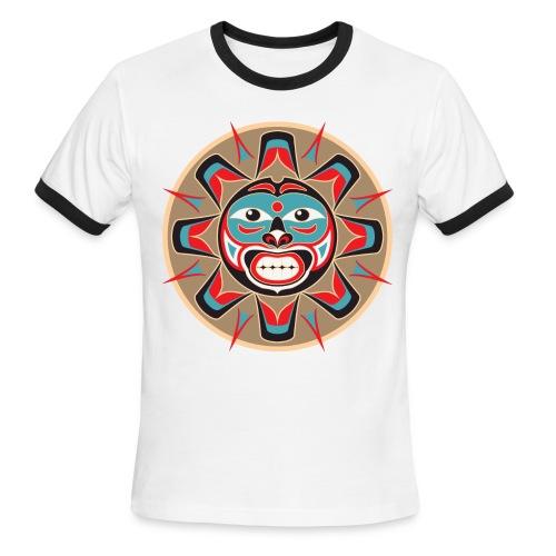 Native American Sun Ringer - Men's Ringer T-Shirt