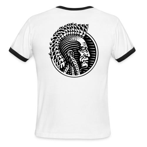 Mohawk Native American Ringer - Men's Ringer T-Shirt