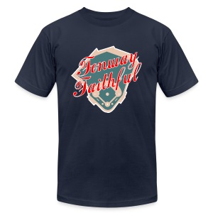 Fenway Faithful - Men's T-Shirt by American Apparel
