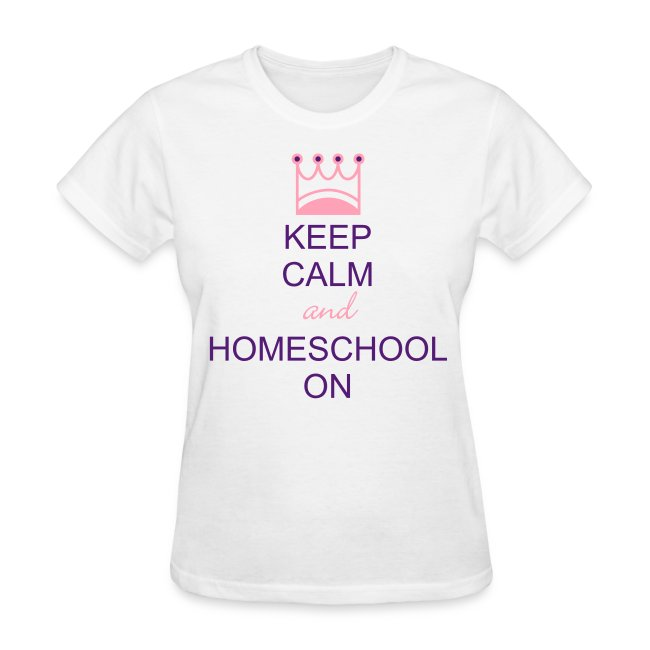 Keep Calm and Homeschool On