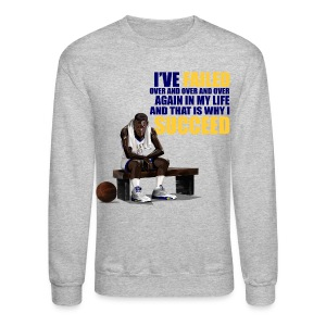 Laney 5s crewneck-Jordan V I've failed-grey - Crewneck Sweatshirt