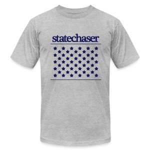 Statechaser state-tee - Men's Fine Jersey T-Shirt
