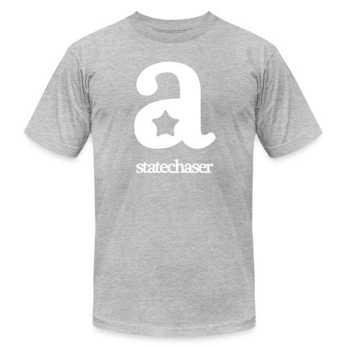 Statechaser big-A tee - Men's Fine Jersey T-Shirt