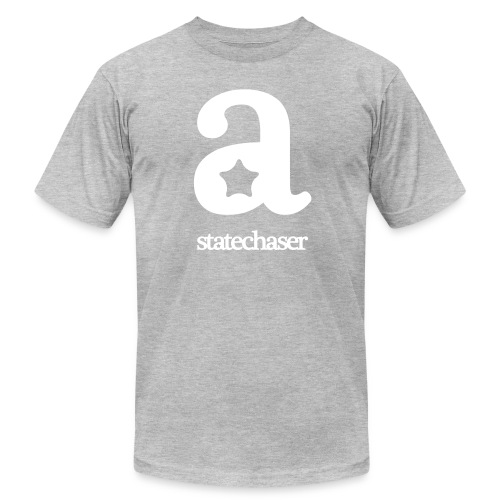 Statechaser big-A tee - Men's  Jersey T-Shirt