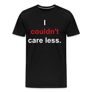 I Couldn't Care Less - Men's Premium T-Shirt
