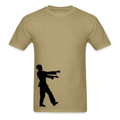 Mens standard zombie walk - Men's T-Shirt