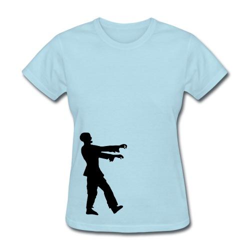 Womens standard zombie walk - Women's T-Shirt