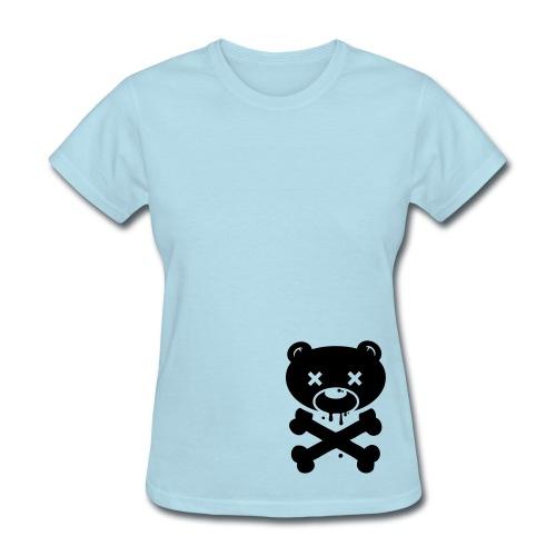 Womens standard zombie bear - Women's T-Shirt