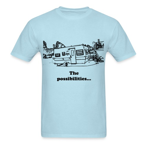 Trailer Shop - Men's T-Shirt