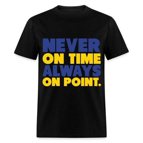 Gamma Blue 11s - Men's T-Shirt