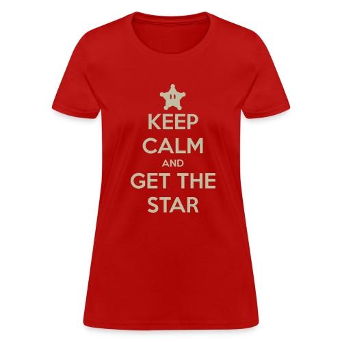 Keep Calm (Women's) - Women's T-Shirt