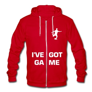 Ive Got Game Jacket (Any Color) - Unisex Fleece Zip Hoodie by American Apparel