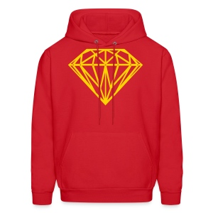 Jay Cruz Gold Diamond - Men's Hoodie