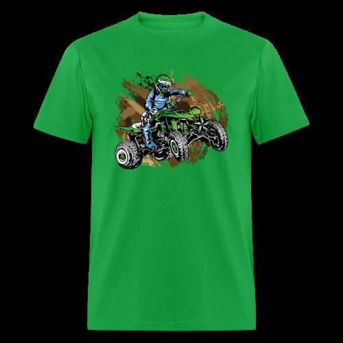 Green ATV Mudding - Men's T-Shirt
