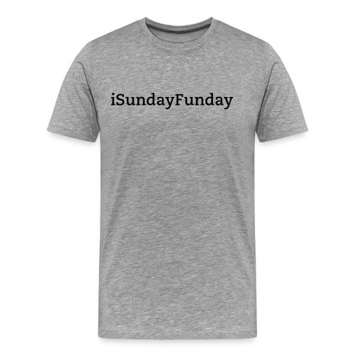 iSundayFunday Men's Tee - Men's Premium T-Shirt