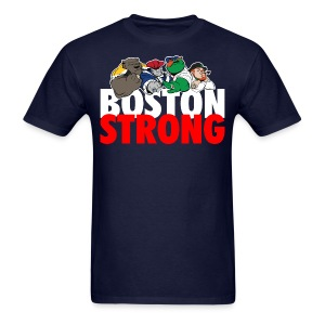 Boston Strong Mascots - Men's T-Shirt