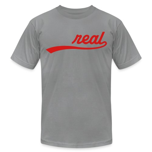 Mens Real  - Men's Fine Jersey T-Shirt