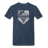T-Shirts ~ Men's Premium T-Shirt ~ Grey Logo Men's Short Sleeve Premium T-Shirt