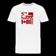 T-Shirts ~ Men's Premium T-Shirt ~ Red Logo Men's Short Sleeve Premium T-Shirt