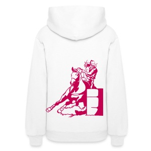 Barrel Race Lady Girl Hoodies - Women's Hoodie