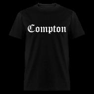 T-Shirts ~ Men's T-Shirt ~ Compton (White)