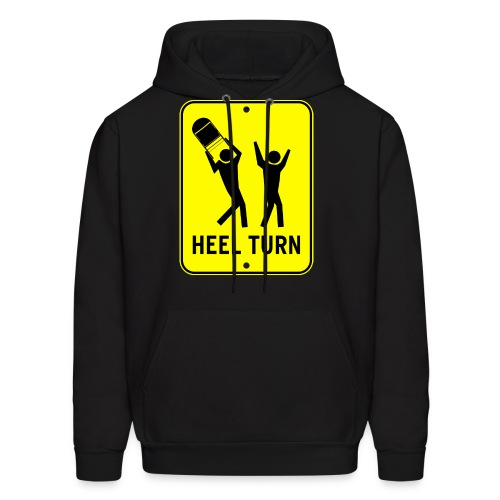 Heel Turn (Men, Hoodie) - Men's Hoodie
