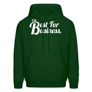 Best For Business (Men, Hoodie) - Men's Hoodie