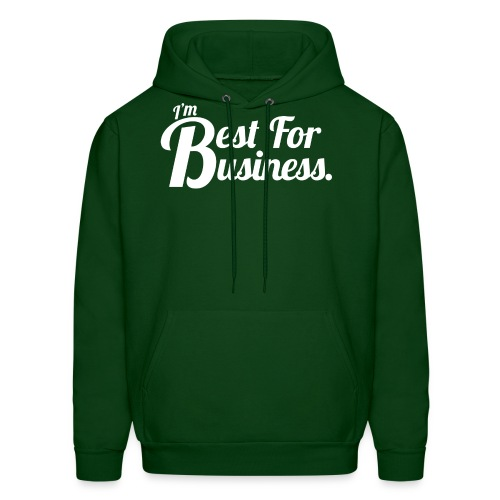 Best For Business (Men, Hoodie) - Men's Hoodie