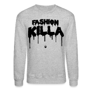 Long Sleeve Shirts ~ Crewneck Sweatshirt ~ FASHION KILLA - A$AP ROCKY - Crewneck