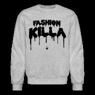 Long Sleeve Shirts ~ Men's Crewneck Sweatshirt ~ FASHION KILLA - A$AP ROCKY - Crewneck
