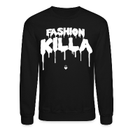 Long Sleeve Shirts ~ Men's Crewneck Sweatshirt ~ FASHION KILLA - A$AP ROCKY - Crewneck