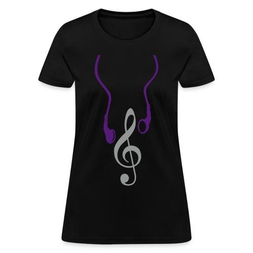 Headphone Notes - Women's T-Shirt