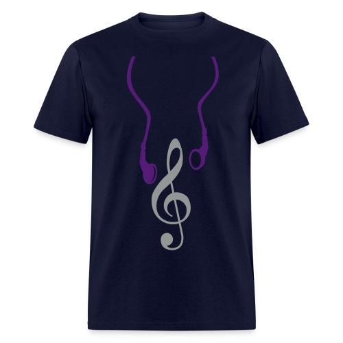 Headphone Notes - Men's T-Shirt